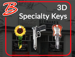 3d specialty keys bernards locksmith moncton