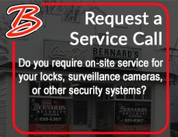 service call bernard's locksmith moncton